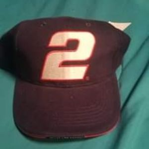 NEW Chase Authentics Wallace Nascar Dad Hat